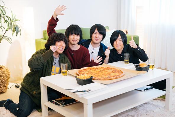 KANA-BOONの人気冠番組「もぎもぎKANA-BOON」特別編でメジャーデビュー5周年の2018年を振り返る忘年会を開催!