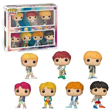 BTS(防弾少年団)× 人気フィギュア FUNKO「POP!」、メンバー7人のスペシャルボックスセットが数量限定発売