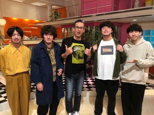 札幌在住の4人組バンドThe Floorがトーク&ミニライヴ、注目バンド3組の最新コメントも!『音ドキッ!』