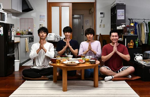 TVドラマ最終回からの映画化も決定!働く男子たちの手料理マンガ「広告会社、男子寮のおかずくん」4巻が発売