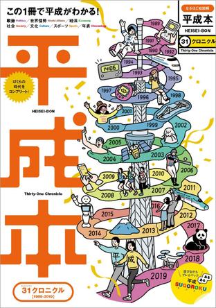 31年の出来事を一冊に!平成を生きた人、みんなの「卒業アルバム」新刊その名も『平成本』発売