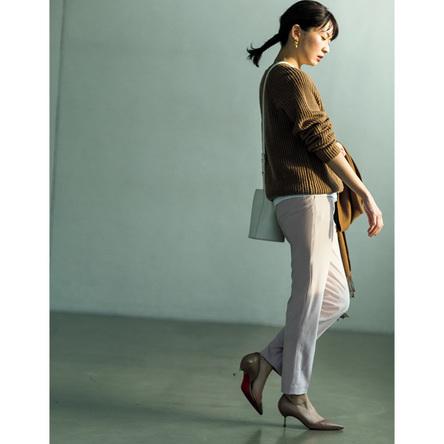 誰もが美脚に! ユニクロの最強パンツ【ファッションエディター推奨】(2)