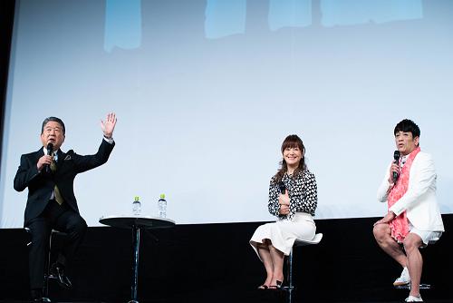 岩崎宏美、西城秀樹は「憧れでした」武道館コンサート上映会で徳光和夫×クリス松村とSPトークイベントに登壇