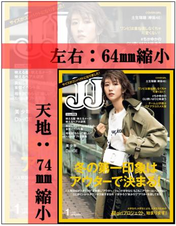 """創刊45周年を迎える女性ファッション誌『JJ』が2020年1月号から""""ミニサイズ""""に!""""持ち歩きたくなる""""雑誌に"""