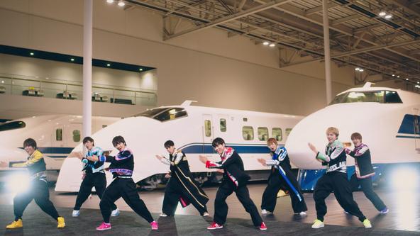 ボイメン新曲MV解禁!劇場版『シンカリオン』主題歌を鉄道ミュージアム「リニア・鉄道館」で撮影