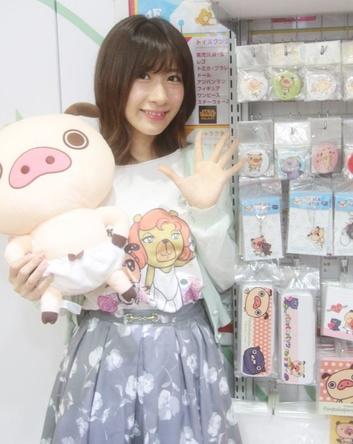 AKB48石田晴香 テレビアニメ「パンパカパンツおNEW!」声優出演で記念Tシャツお渡し会!