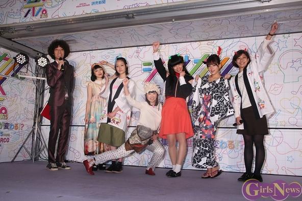 篠崎愛がセクシー浴衣で「シブカル祭。」開会宣言