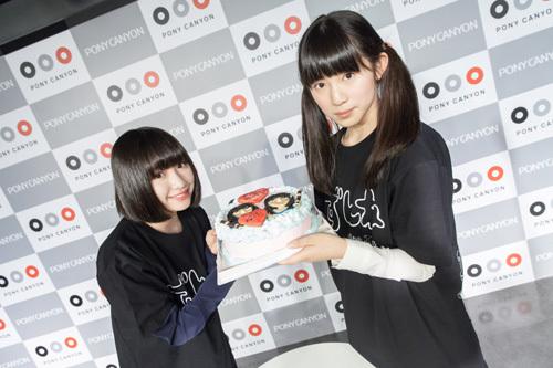 14才歳限定アイドルユニット:ずんね from JC-WC、笑顔で解散ライブ!