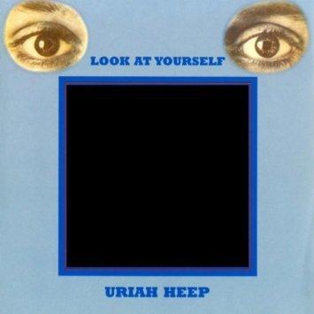 Uriah Heep『Look At Yourself』のジャケット写真