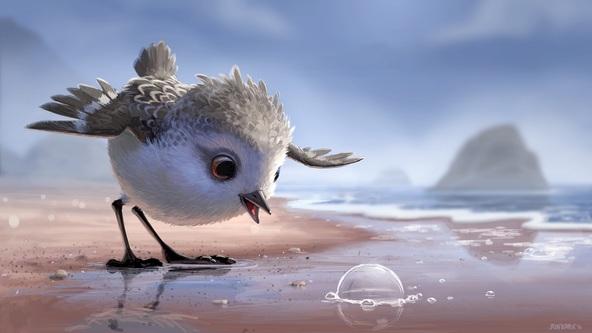 『ファインディング・ドリー』同時上映作、もふもふキュートなピクサー短編『ひな鳥の冒険』映像公開