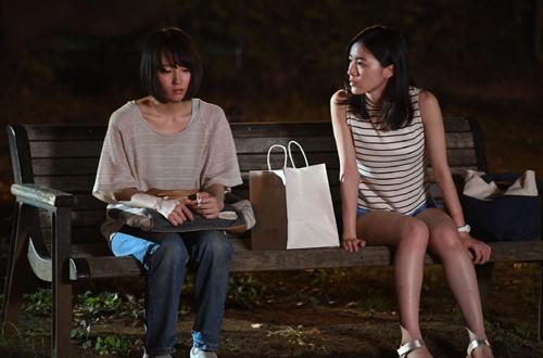 松井珠理奈主演ドラマ「死幣ーDEATH CASHー」第3話 (c)TBS