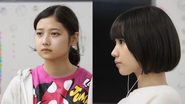 舞台『百瀬、こっちを向いて。/小梅が通る』に出演の吉田まどか(左)と元NMB48・高野祐衣(右)