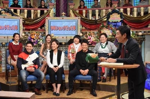 『踊る!さんま御殿!!2016話題の人が大集合4時間半大忘年会SP』司会:明石家さんま、ゲスト出演者 (c)NTV