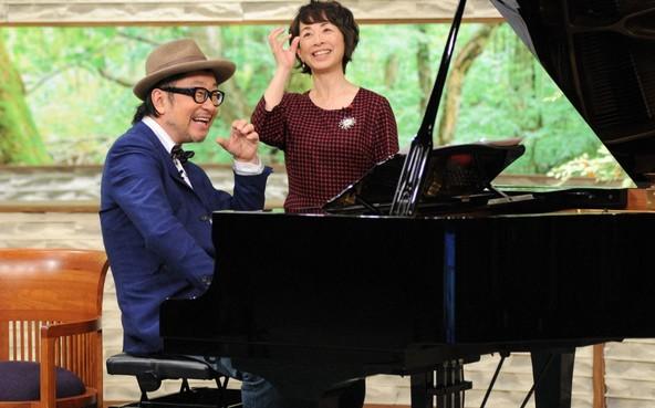 『サワコの朝』左から、ゲスト:大江千里、 阿川佐和子 (c)TBS