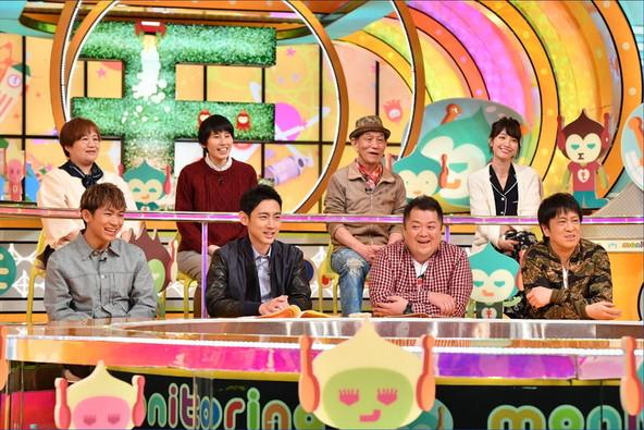 2月23日放送『ニンゲン観察バラエティ モニタリング』スタジオ収録の模様 (c)TBS