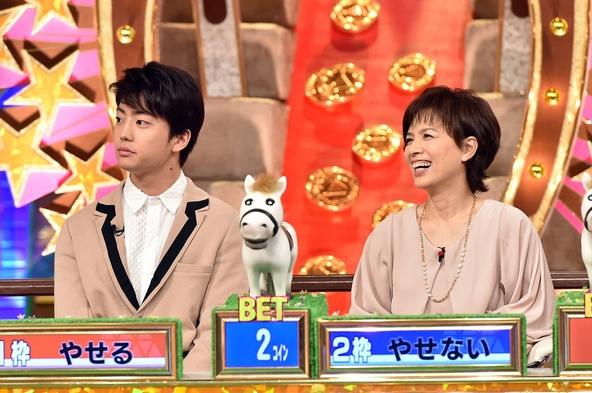 『珍種目No.1は誰だ!?ピラミッド・ダービーSP』中尾明慶、日村勇紀(バナナマン) (c)TBS