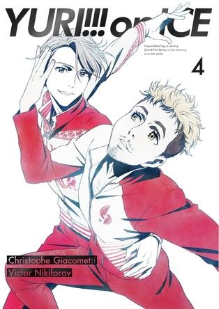 男子フィギュアスケートアニメ「ユーリ!!! on ICE」第4巻が3作連続のBD総合首位獲得