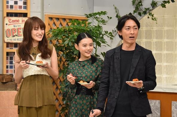 『ぐるぐるナインティナイン』「最強!ポテサラ食べる会」矢部浩之、杉咲花、高梨臨(1) (c)NTV