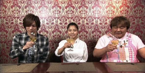 『火曜サプライズ』左からDAIGO、高梨沙羅、石塚英彦 (c)NTV