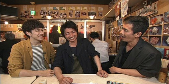 『火曜サプライズ』「市ヶ谷アポなし旅」ゲスト:藤原竜也、伊藤英明(1) (c)NTV