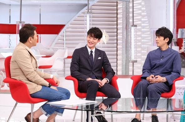 『おしゃれイズム』 上田晋也、岡田将生 、藤木直人、森泉 (c)NTV