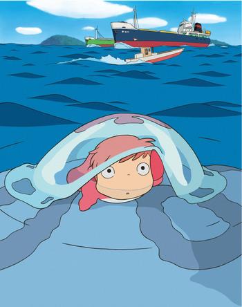 金曜ロードSHOW!『崖の上のポニョ』 (c)2008 Studio Ghibli・NDHDMT (c)NTV
