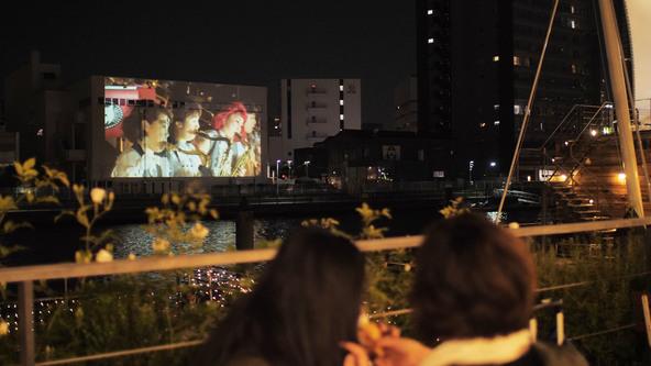 パナソニック「天王洲キャナルフェス2018春」でプロジェクションマッピングや3Dフォトスキャナーによる次世代映像体験を提供
