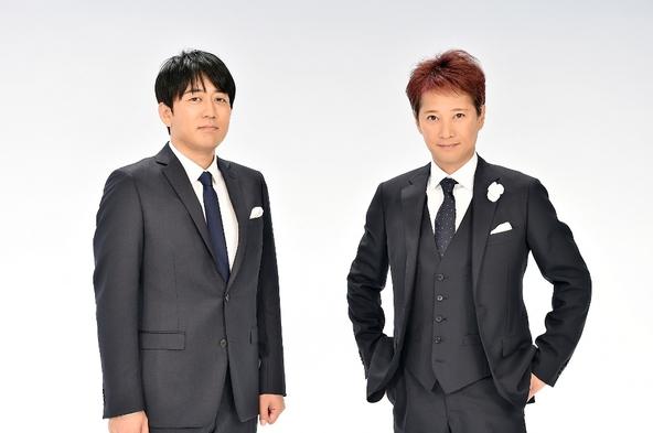 「音楽の日 2018」〈総合司会〉中居正広、安住紳一郎アナウンサー (c)TBS