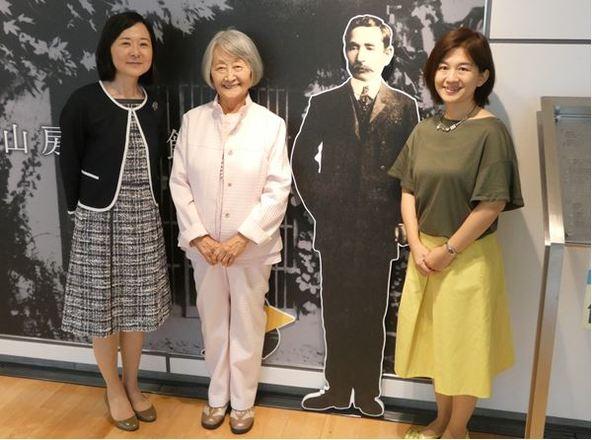 夏目漱石の孫・随筆家 半藤末利子氏が語る夏目漱石の素顔とは ...