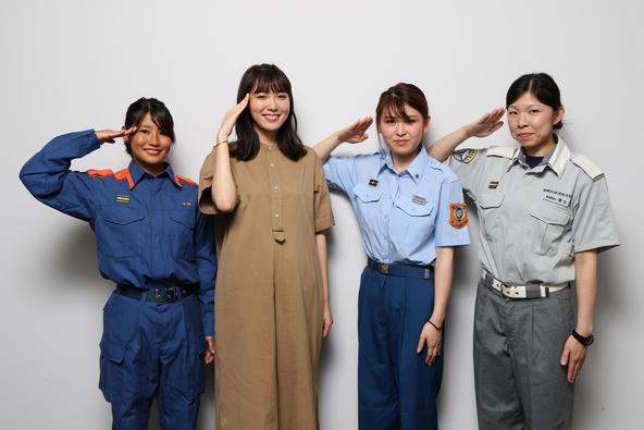 「女子学生向け消防職業体験 1dayインターンシップ」開催!ゲスト・飯豊まりえも女性に嬉しい職場環境に「消防士さんのイメージが変わりました!」