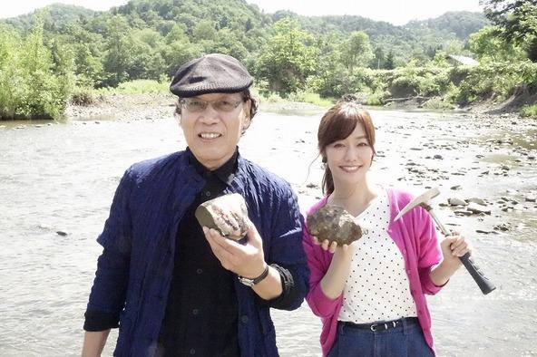 割った石からアンモナイト発見!? 大興奮の吉田類&喜多よしかが中川町の魅力伝える『吉田類 北海道ぶらり街めぐり』