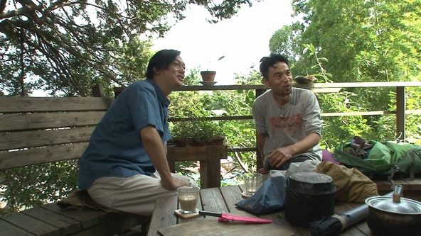 『SWITCHインタビュー』井浦新、服部文祥 (c)NHK