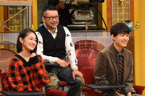 『世界一受けたい授業』吉本実憂、上村海成、ケンドーコバヤシ (c)NTV