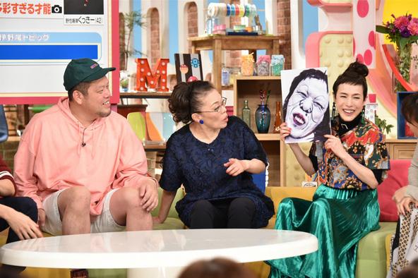 メレンゲの気持ち』くっきー(野性爆弾)、柴田理恵、久本雅美 (c)NTV ...