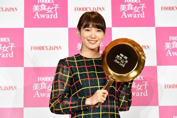 【FOODEX美食女子Award2019】女優の飯豊まりえがアンバサダーに就任 (1)