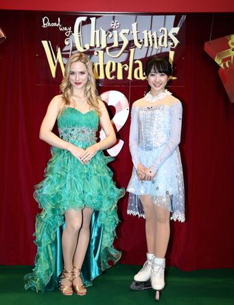 いよいよ開幕「ブロードウェイ クリスマス・ワンダーランド」プレスコールに本田望結、ナタリー・エモンズが登場