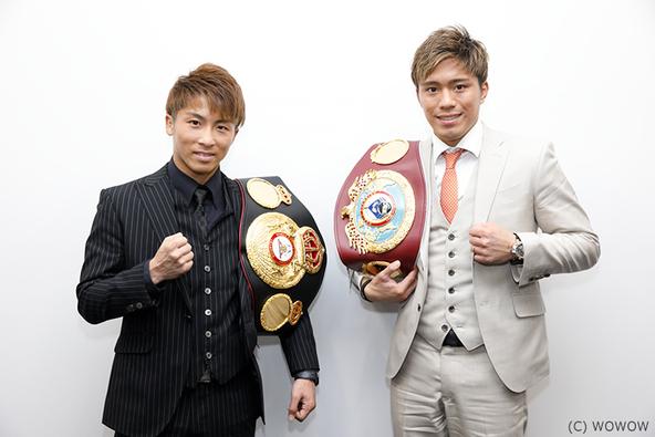井上尚弥&伊藤雅雪、「世界にアピール」を誓う!注目のビッグマッチを前にスペシャル対談実施