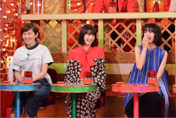 『THE突破ファイル』〈ゲスト〉門脇麦、小松菜奈、渡辺満里奈 (c)NTV