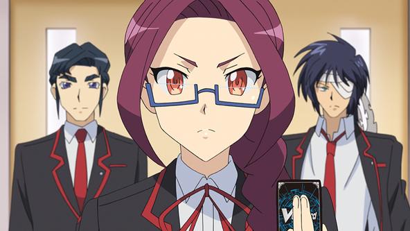アニメ「カードファイト!! ヴァンガード」ディメンジョン3より先行場面カットを限定公開!那嘉神エルとはいったい!? (1)