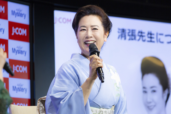 """名取裕子が松本清張の魅力を語りつくす!「清張先生はすごく優しくて可愛いところがある人でした」「松本清張作品への出演が""""女優のスイッチ""""が入るきっかけ」"""