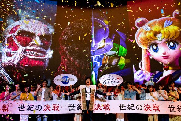 """世界を舞台に活躍する小澤征悦さんが令和初イベントの開幕セレモニーに登場作品ファンの100名と共に """"世紀の決戦""""の幕開けを高らかに宣言! (1)"""