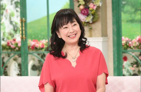 「徹子の部屋」かたせ梨乃  (c)テレビ朝日