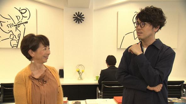『SWITCHインタビュー 達人達(たち)』川村元気×阿川佐和子 (c)NHK