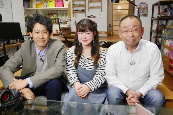 『1×8いこうよ!』YOYO'S(大泉洋、木村洋二)、エマさん(ユーチューバー) (c)STV