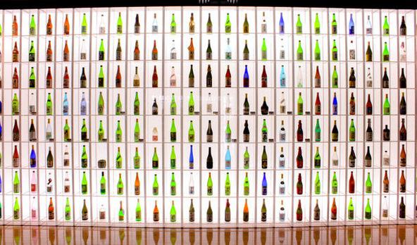東京農大「食と農」の博物館常設展示酒瓶