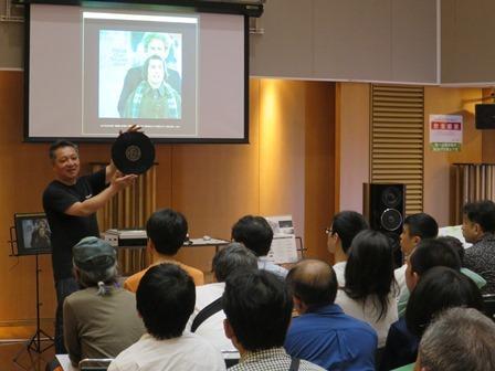 萩原健太氏をゲストに迎えたレコードコンサートで日比谷と音楽の歴史を体感