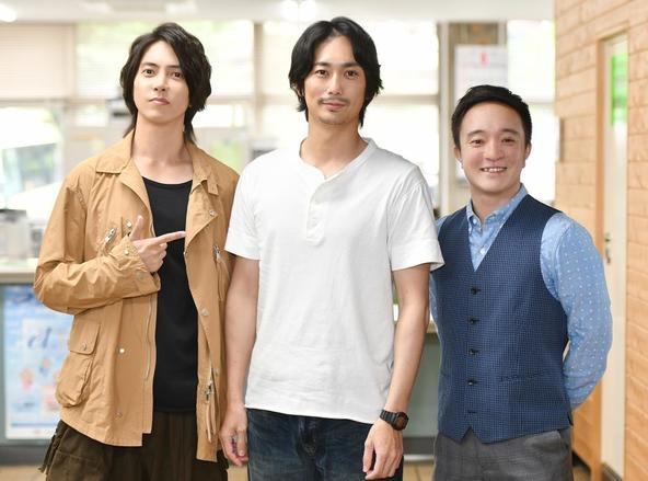 金曜ドラマ『インハンド』平岡祐太 、山下智久 、濱田岳  (c)TBS