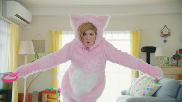 "IKKOさんがピンクの猫姿で「スマカメ~」と声を張る!IKKOさん改め""NEKKOさん""出演 「スマカメ」新CM 「NEKKO」編2019年6月17日(月)より放映開始 (1)"