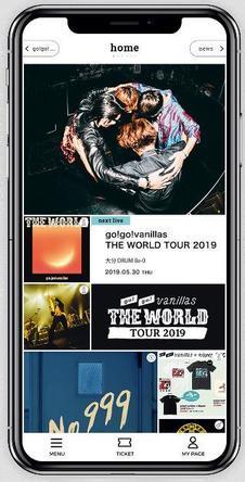 go!go!vanillas 最新情報からゲーム企画などオフィシャルアプリ「go!go!vanillas APP」リリース、ツアー後半戦プレオーダーも開始