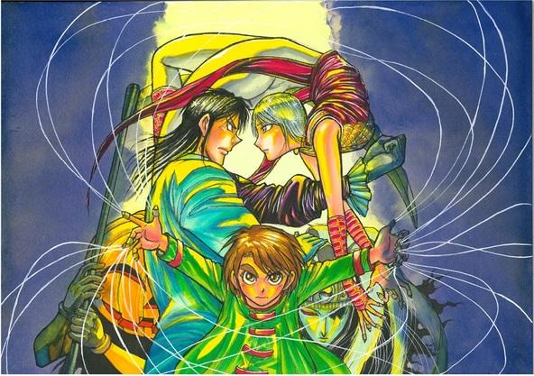 アニメ「からくりサーカス」サントラ盤の詳細が決定! 原作者・藤田和日郎書下ろしジャケットや、豪華ブックレットも。 (1)